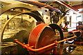 SJ9143 : Gladstone pottery - steam engine by Chris Allen
