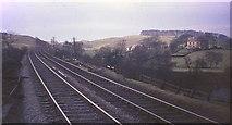 NY6366 : Railway line at Gilsland, 1969 by Derek Harper