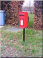 TM4461 : Aldeburgh Road Postbox by Adrian Cable