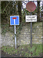 ST6952 : Red bikes not permitted? by Neil Owen