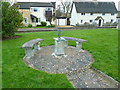 TL2844 : St Mary's Church, Guilden Morden, Sundial by Alexander P Kapp