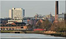 J3473 : Winter morning, River Lagan, Belfast by Albert Bridge