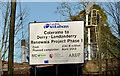 C8533 : Railway sign, Coleraine by Albert Bridge