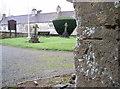 ST6952 : Benchmark on the church doorway by Neil Owen