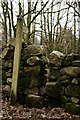 NY1701 : Footpath Sign, Boot, Eskdale by Peter Trimming