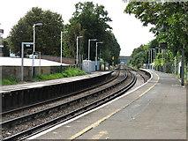 TQ2075 : Mortlake Station by David Purchase
