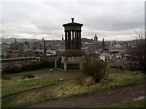 NT2674 : Dugald Stewart monument, Calton Hill by Euan Nelson