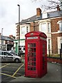 NZ3571 : Type K4 telephone kiosk, Whitley Bay by Rose and Trev Clough