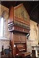 SK7957 : Organ, St Wilfred's church, South Muskham by J.Hannan-Briggs