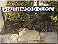 TM3862 : Southwood Close sign by Adrian Cable