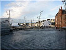 C8540 : Station square, Portrush by Willie Duffin