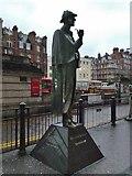 TQ2882 : Sherlock Holmes statue, Marylebone Road NW1 by Robin Sones