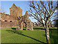 NX9666 : The Remains of Sweetheart Abbey by David Dixon