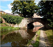 SO8276 : South side of Caldwall Mill canal bridge, Kidderminster by Jaggery