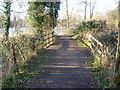 TQ5156 : Path alongside West Lake at Sevenoaks Wildlife Reserve by Marathon