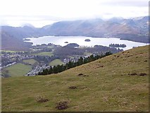 NY2724 : View from Latrigg by Oliver Dixon