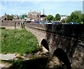 SO5112 : Southern side of Wye Bridge, Monmouth by Jaggery
