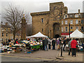 NY9364 : Hexham Market Place by David Dixon