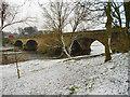 NY4056 : Eden Bridge, Carlisle by David Dixon