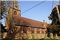 SJ3758 : St Mary's Church, Pulford by Jeff Buck