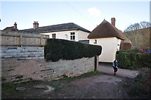 SS7701 : Coleford : Small Lane by Lewis Clarke