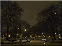 TQ3081 : Central fountain, Russell Square WC1 by Robin Sones