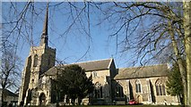 TM0458 : Parish church of St Peter and St Mary, Stowmarket by Chris Morgan