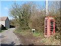 ST5260 : Nempnett Thrubwell: the telephone box by Chris Downer