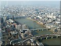 TQ3280 : The Thames through central London from The Shard by Rob Farrow