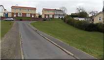 ST3090 : Southern half of Harvey Close, Malpas, Newport by Jaggery