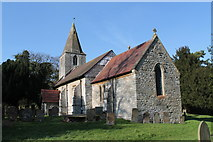 SK7160 : St Radegund's church, Maplebeck by J.Hannan-Briggs