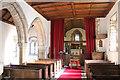 SK7160 : Interior, St Radegund's church, Maplebeck by J.Hannan-Briggs