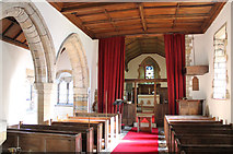 SK7160 : Interior, St Radegund's church, Maplebeck by J.Hannan-Briggs