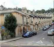 ST7566 : Brunswick Street, Bath by Jaggery