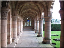 NT7233 : Kelso Abbey by frank smith