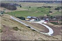 NT2466 : Hillend Ski Centre by Jim Barton