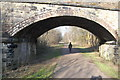 SJ9277 : Bridge over the Middlewood Way at Bollington by Trevor Harris