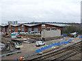 SK5538 : Progress at Lenton railway bridge - 1 by Alan Murray-Rust