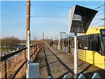 SD7807 : Radcliffe Metrolink Station by Gerald England