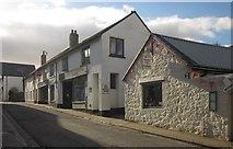 SX7087 : North Street, Chagford by Derek Harper