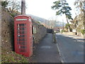 ST5457 : Compton Martin: the telephone box by Chris Downer