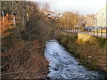 SE1307 : River Holme, Upperbridge by David Dixon