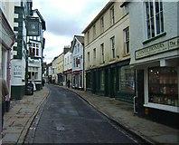 SD6592 : Main shopping street, Sedbergh by Barbara Carr