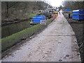 SE1839 : Temporary roadway by John Illingworth