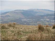 ST1292 : View north west from Mynydd Eglwysilan by John Light