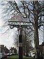 TF8115 : Castle  Acre  Village  Commemorative  Sign by Martin Dawes