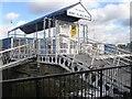 TQ2977 : Nine Elms Pier by Alex McGregor
