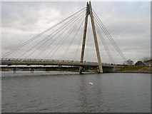 SD3317 : The Marine Way Bridge, Southport by David Dixon