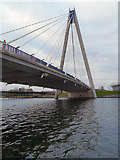 SD3317 : Southport, Marine Way Bridge by David Dixon