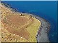NG5240 : Coast below Beinn Tianabhaig by John Allan